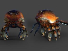 隐生蟹 前寒武纪 古生物 螃蟹 原古动物