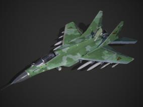 PBR 前苏联 米格-29多用途战斗机 米格29 MIG29 MIG-29  3d模型