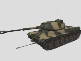 坦克 老式坦克 装甲车 抗日车 写实坦克 履带车 大炮 3d模型