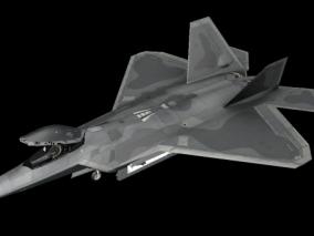 f22战机 猛禽战机 隐身战机 第五代战斗机 美国战斗机 新型飞机 现代战机 概念飞机 空军飞机