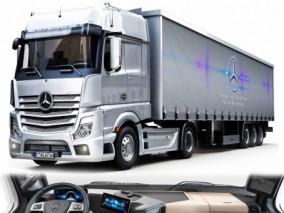 奔驰大货车 卡车 牵引式卡车