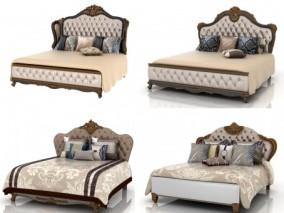 欧式床具组合