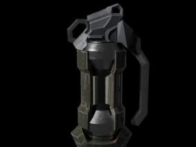 科幻次时代手榴弹 武器 装备 炸弹