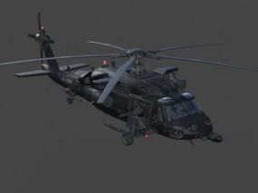 阿帕奇 直升机 战斗直升机 军用飞机 游戏 3d模型