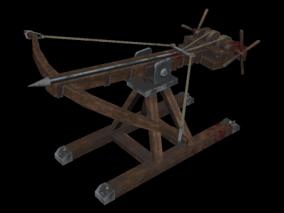 战弩 弓弩 弩炮 弩车 弓弩车 战弩 攻城车 十字弩 古代武器 攻城器械 发射车