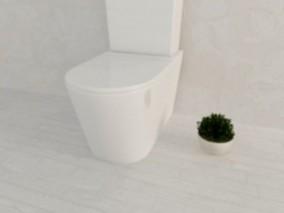 现代风格卫生间马桶 家装 装饰 欧式 中式 现代 3d模型