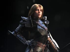 中世纪战斗类欧美女性CG模型作品欣赏