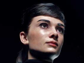 奥黛丽赫本写实欧美女性CG模型作品欣赏