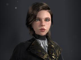 安娜贝尔欧美女性CG模型作品欣赏
