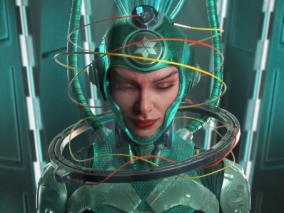 次时代科幻女性CG模型作品分享