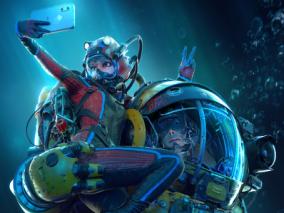 国外概念设计师 Michael-Blac  国际太空 宇航员  科幻 原画 插图