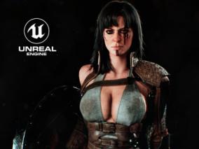 God  of  war  evolution《战神》战斗类性感女性角色CG模型欣赏