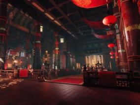 中国风喜庆场景设计参考