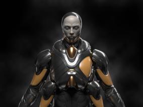 MR4概念机器人CG模型作品欣赏