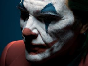 小丑写实头部模型