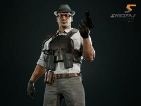 FPS游戏的Juan角色艺术