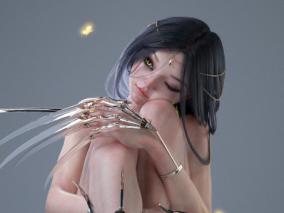 Aeoline 3D角色--A站设计师LNJ