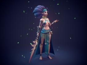 亚马逊女战士(来自Embrase CG)