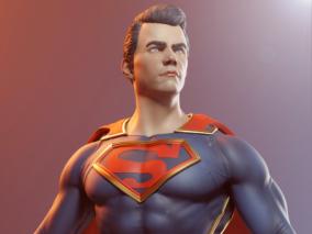 超人角色模型    设计师:jonajr10