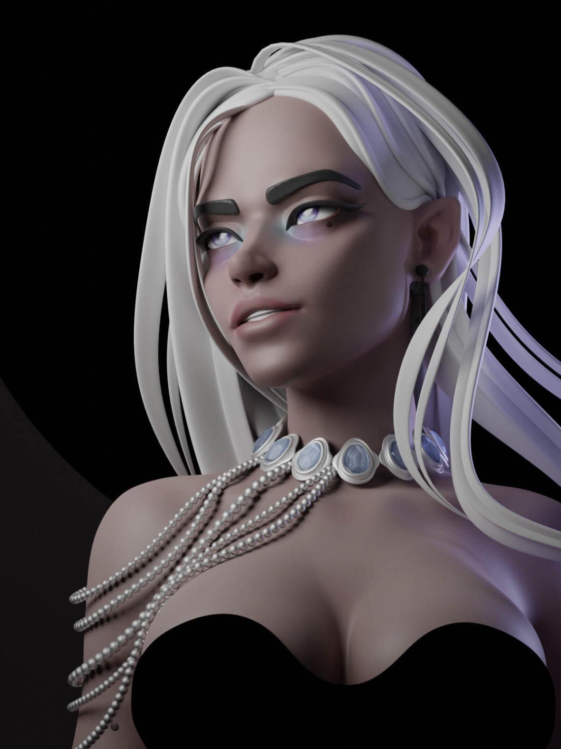 俄罗斯3D艺术家Anna Tutova  作品欣赏