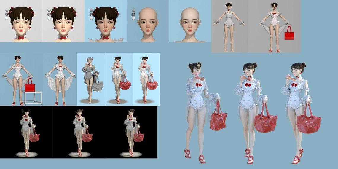 国人3D设计师 Li Lin 作品欣赏