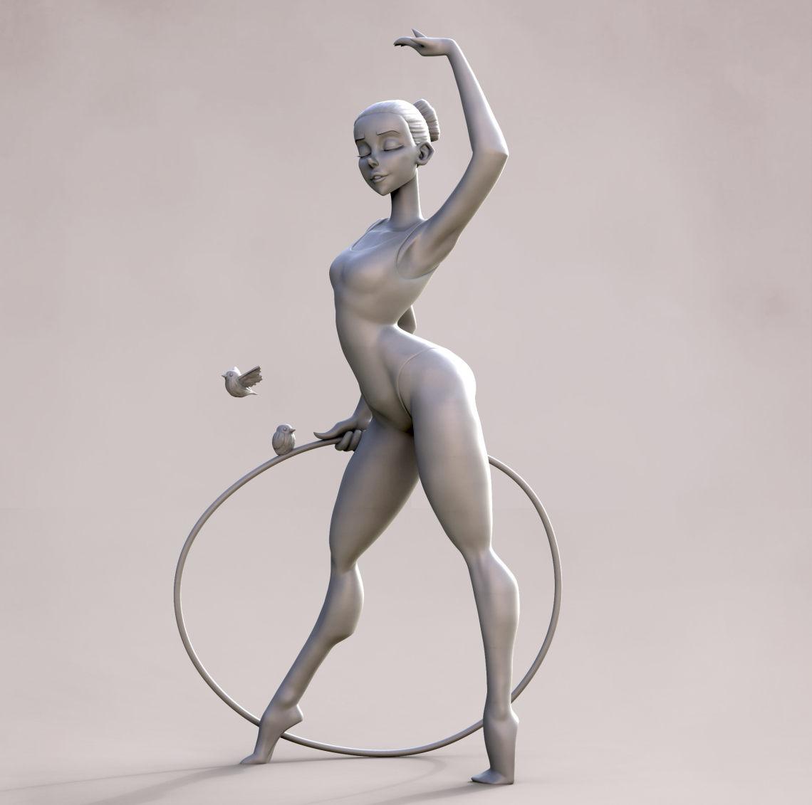 体操运动员   设计师:GeorgeCrudo