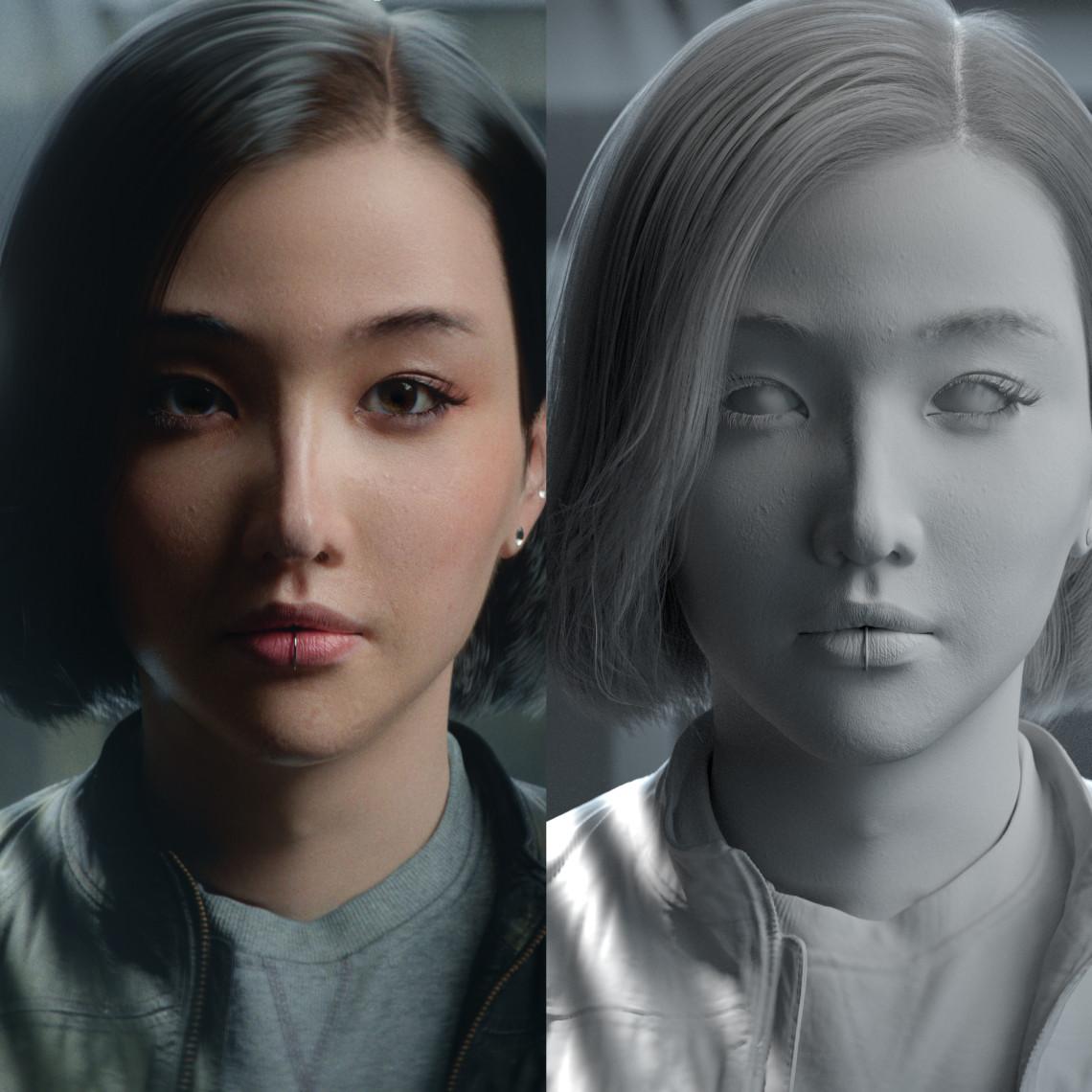 短发 女性肖像 |  国外设计师 Jimmyhmz