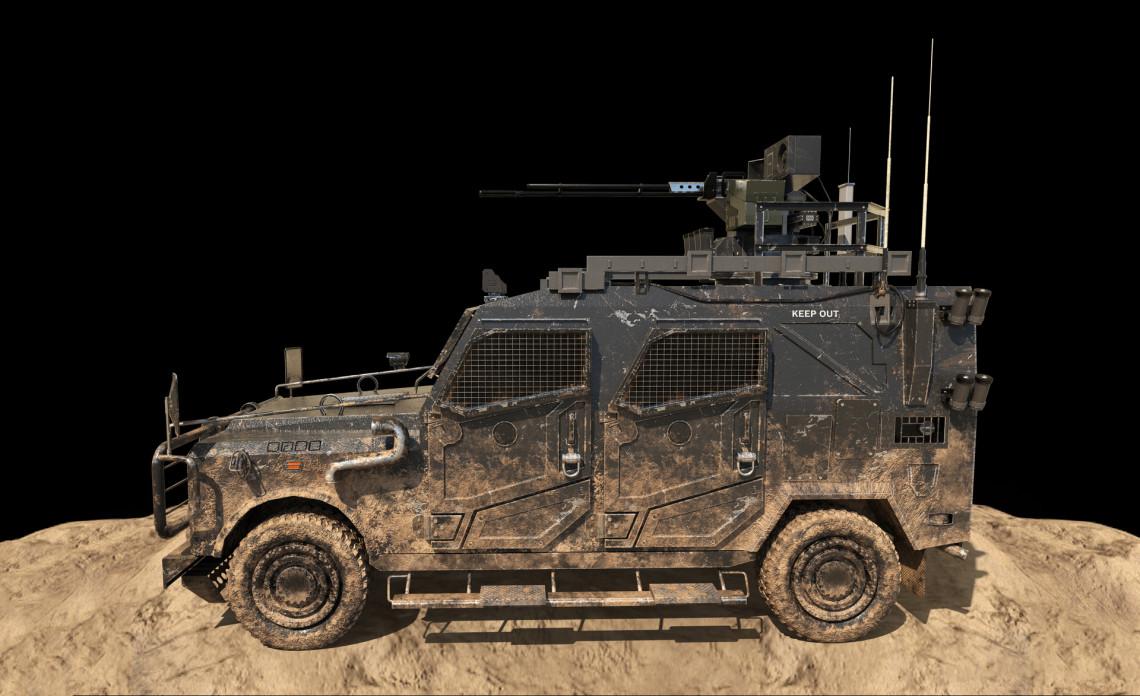 武装吉普车 | 国内3D设计师 LevisX