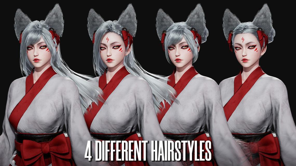 妖狐(拉脱维亚3D角色设计师Ida Faber)