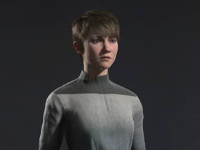 kara   次时代写实女角色    设计师:Md_utsho