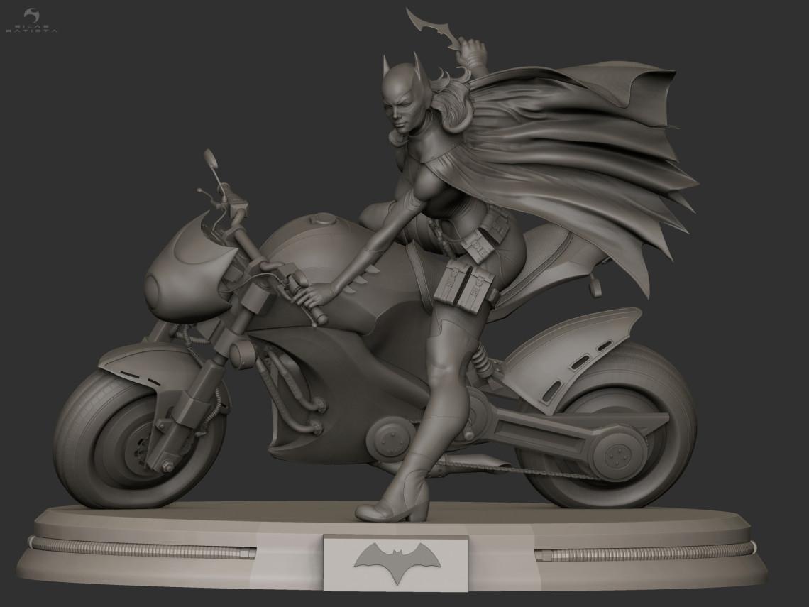 蝙蝠侠女   设计师:Silas Batista