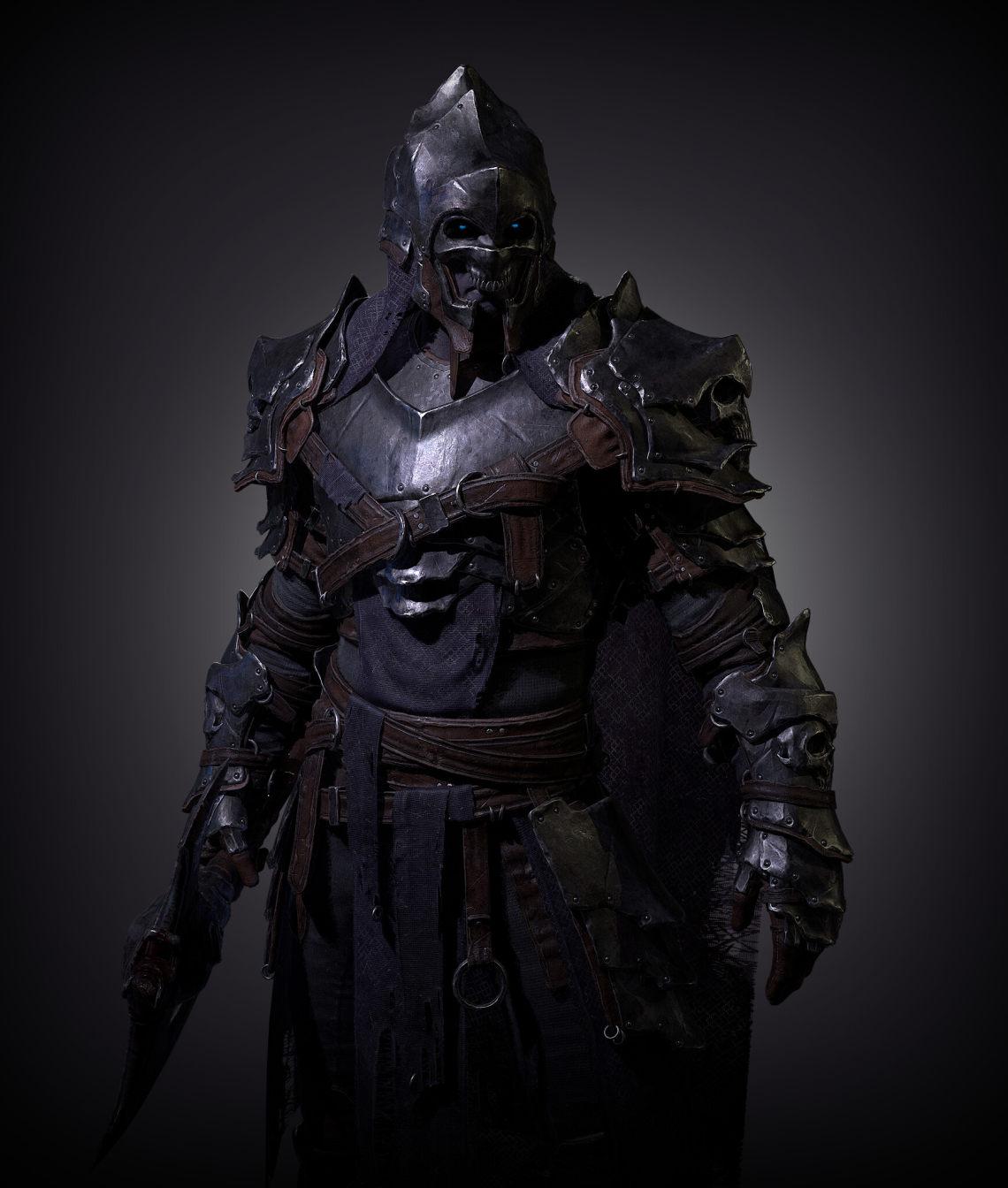 死亡骑士(魔兽世界同人)加拿大角色美术师Ludovic Plouffe