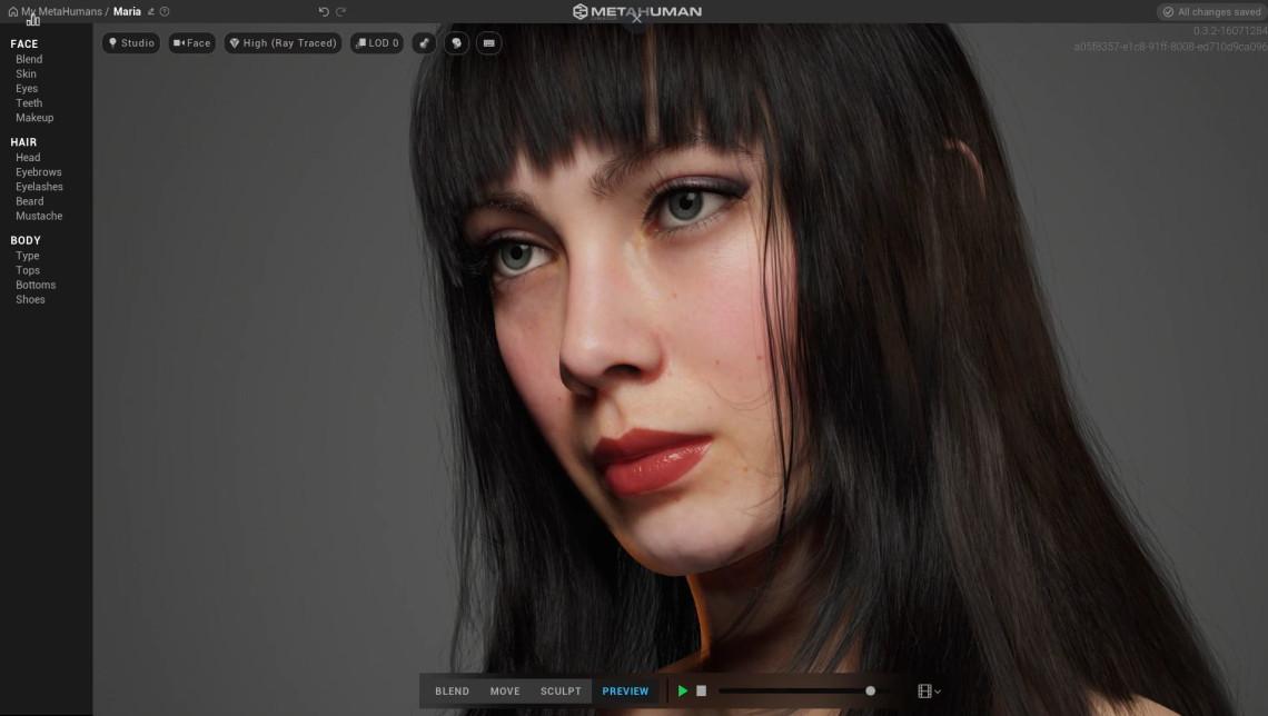 玛利亚女孩   写实女性CG角色   设计师:mania carta