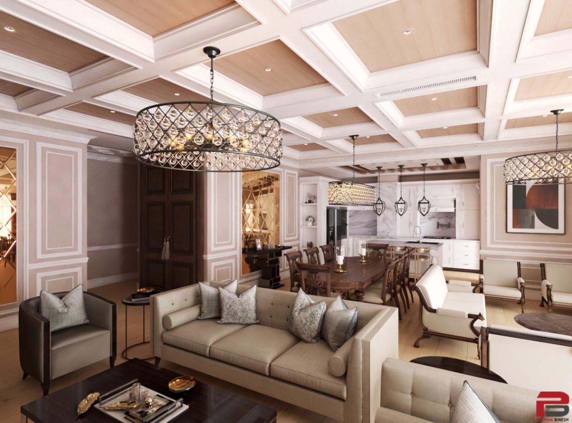 新古典主义室内设计   来自 Peyman Binesh