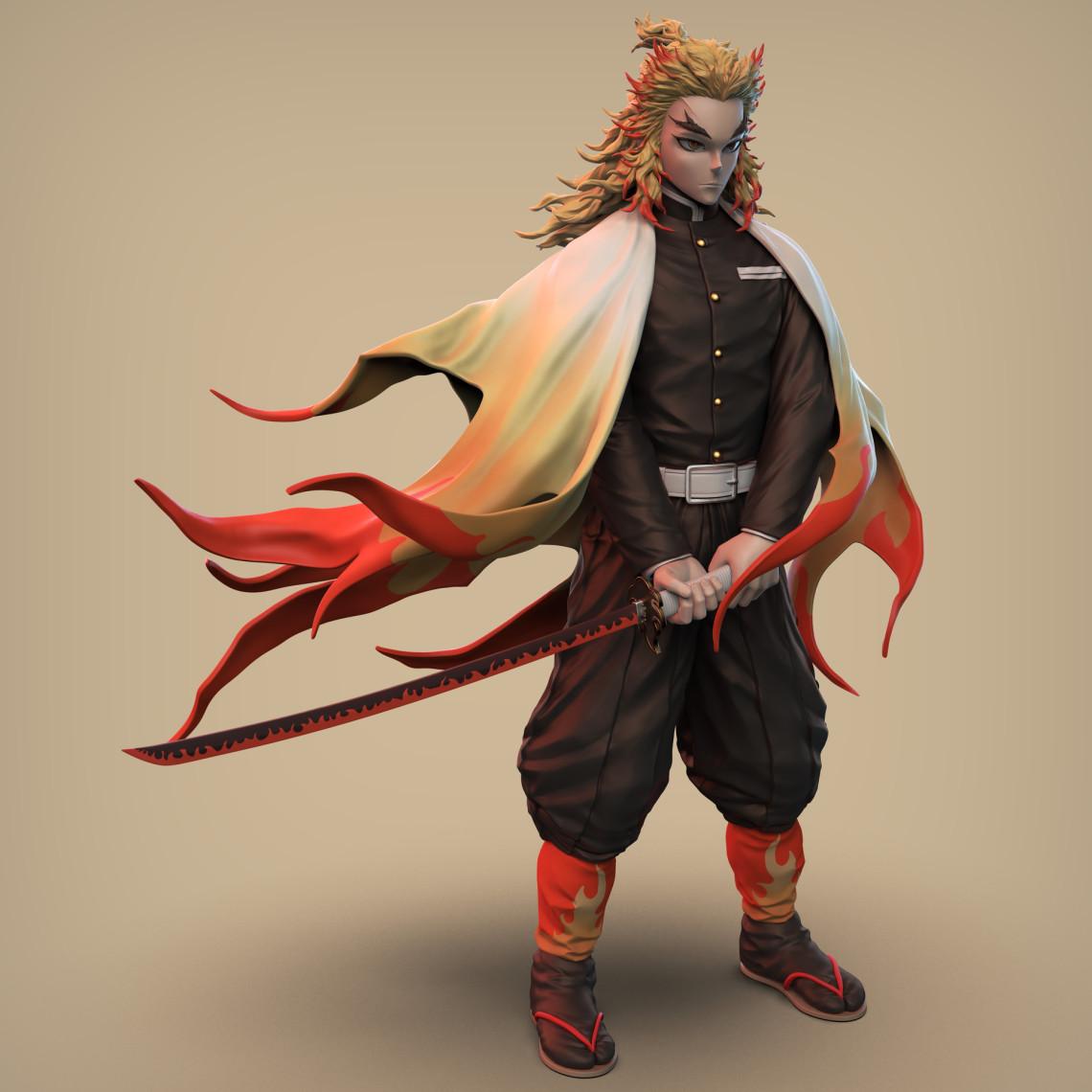 恶魔杀手   日系角色设计   设计师:Wilxan Phuah