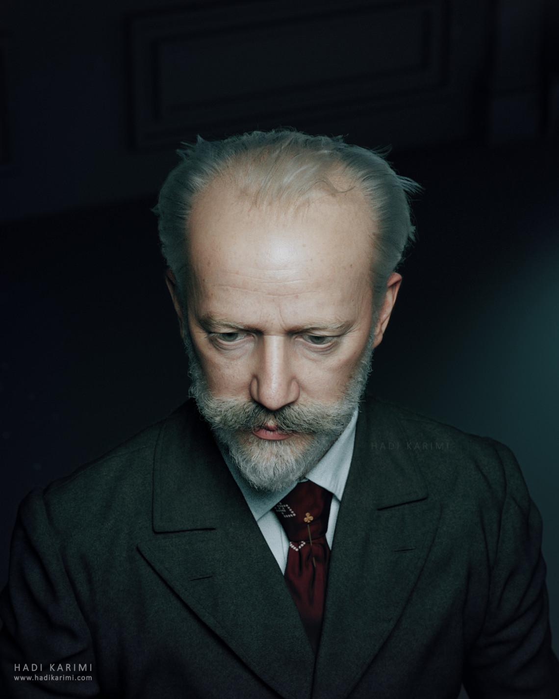 彼得·伊里奇·柴可夫斯基 来自 Hadi Karimi
