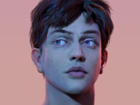 男性写实肖像 | 男性写实肖像