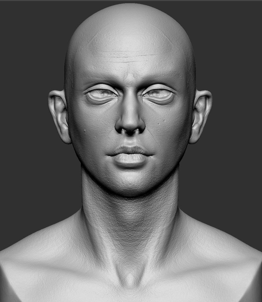 男性写实肖像   男性写实肖像