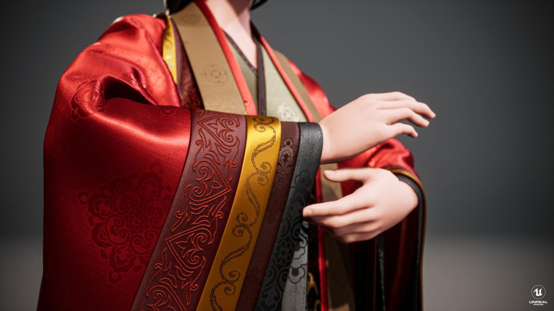 高精度布料材质设计欣赏    设计师:LevisX