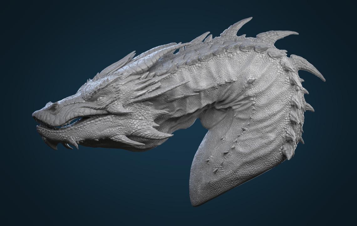 SMAUG   巨龙模型设计    设计师:Francesco R
