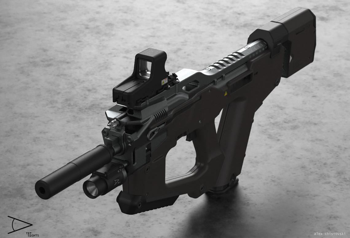 TRI-sights model-1.mk2  设计师 Aleksandar Chistovski