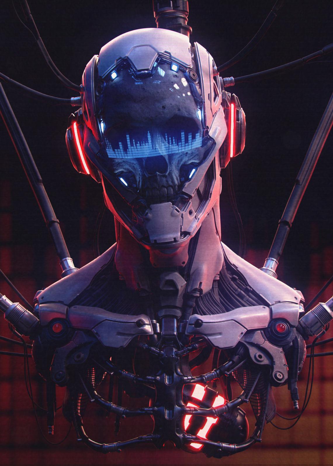 我的头骨仍在(加拿大3d角色设计师Marco Plouffe (Keos Masons))