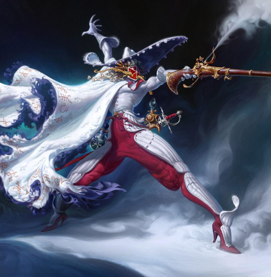 皇家火枪手(英国概念艺术家Thomas Chamberlain - Keen)