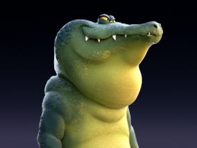 卡通鳄鱼   设计师:Javier Diaz