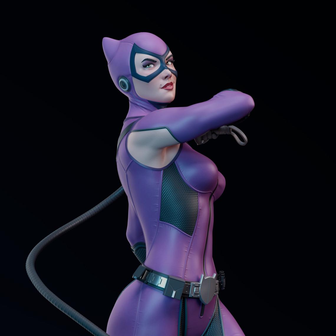 猫女角色设计    设计师:jonajr10