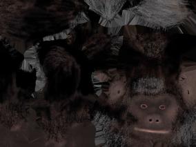 大猩猩3d贴图